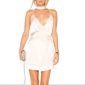Revolve Satin Slip Dress